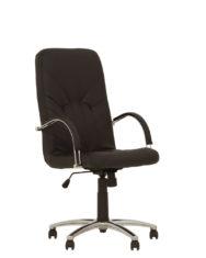 Кресло для руководителя MANAGER_steel_chrome